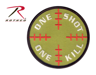 Rothco One Shot One Kill Morale Patch-
