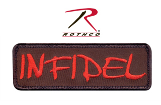 Rothco Infidel Morale Patch-Rothco