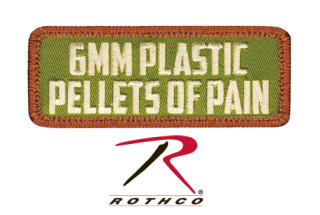 Rothco Pellets of Pain Morale Patch-