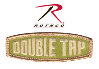 Rothco Double Tap Morale Patch-