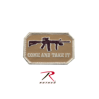 Rothco Come and Take It Morale Patch-