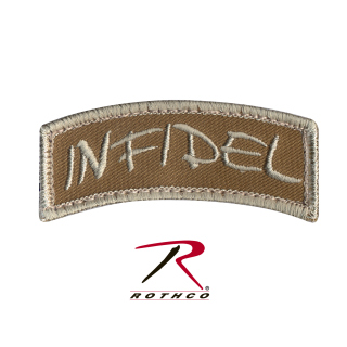 Rothco Infidel Shoulder Morale Patch-
