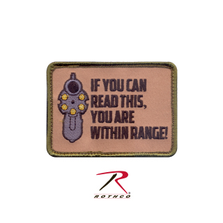 Rothco If You Can Read This Morale Patch-