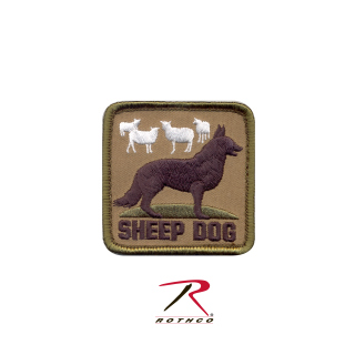 Rothco Sheep Dog Morale Patch-