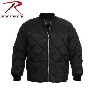 Rothco Diamond Nylon Quilted Flight Jacket-