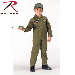 Rothco Kids Flight Coverall With Patches-