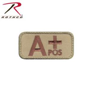 Rothco A Positive Blood Type Morale Patch-