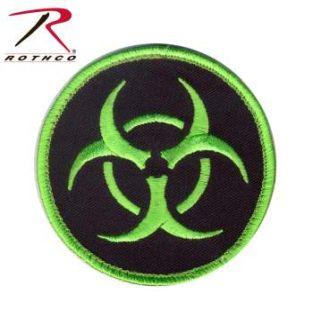 Rothco Biohazard Morale Patch-Rothco