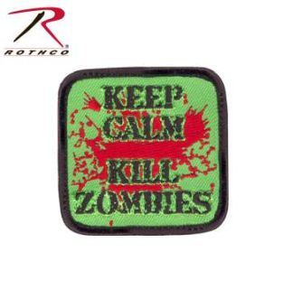 Rothco Keep Calm Kill Zombies Morale Patch-