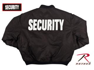 7358_Rothco MA-1 Flight Jacket With Security Print-