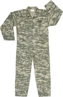 7413 Army Digital Camo Flightsuit