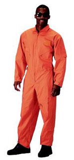 Orange Flightsuits