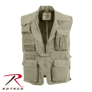 Rothco Deluxe Safari Outback Vest-