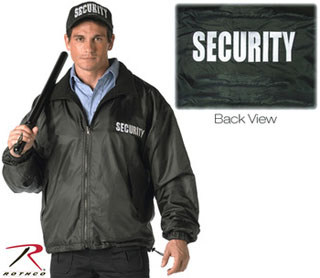 7611 Rothco Security Reversible Nylon/Polar Fleece Jacket