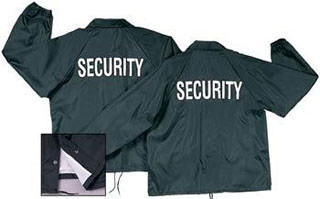 Rothco Lined Coaches Jacket / Security-Rothco