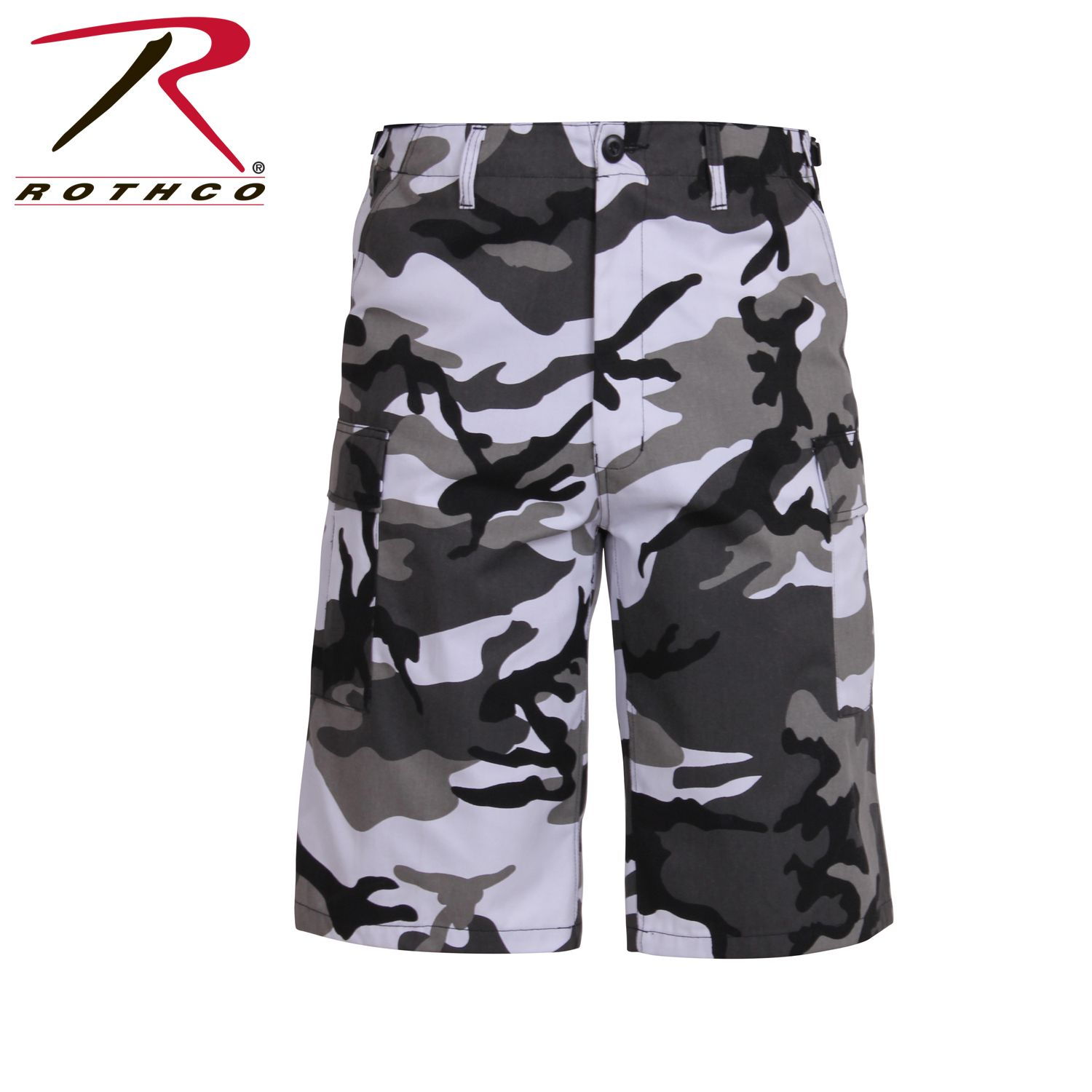 857071170a795 Buy Rothco Long Length Camo BDU Short - Rothco Online at Best price - WA