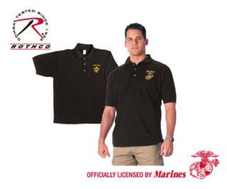Rothco Military Embroidered Polo Shirts-