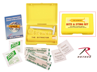Sawyer Extractor and  Bite & Sting Kit-