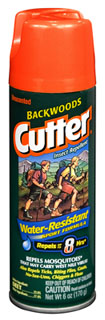 Cutter Unscented Backwoods Insect Repellent-Rothco