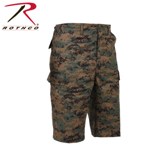 Rothco Long Length Camo BDU Short-
