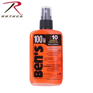 Bens 100 Max DEET Insect Repellent Spray Pump-