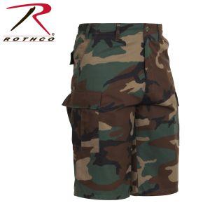 Rothco Long Length Camo BDU Short-