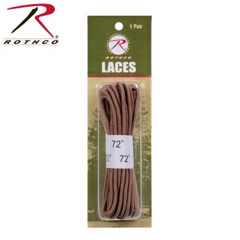 "Rothco 72"" Boot Laces-"