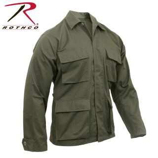 Rothco Poly/Cotton Twill Solid BDU Shirts-