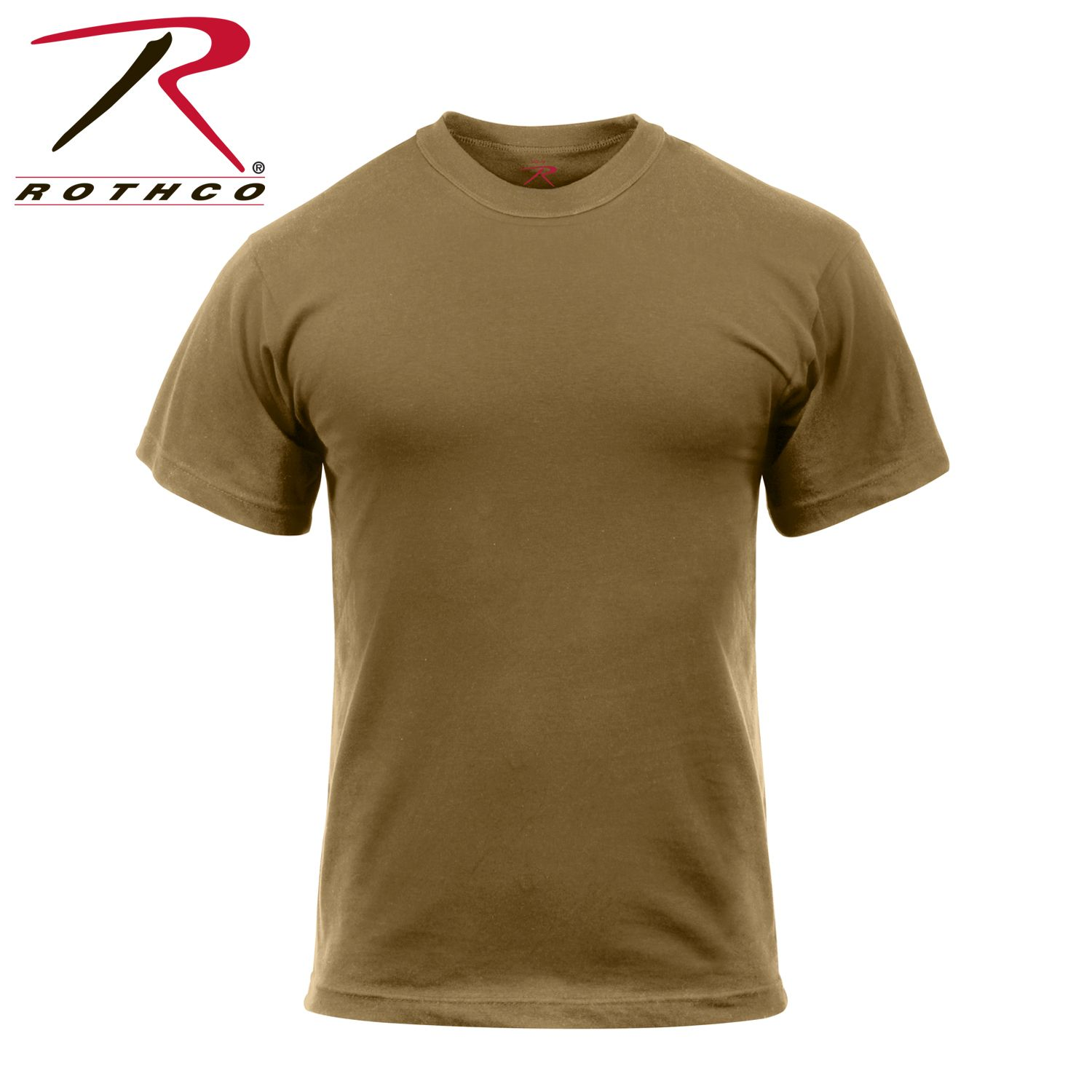 Buy Rothco Solid Color 100 Cotton T Shirt Rothco Online At Best