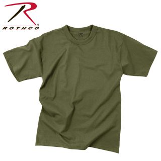 Rothco Solid Color 100% Cotton T-Shirt-Rothco