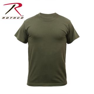 Rothco Solid Color 100% Cotton T-Shirt-