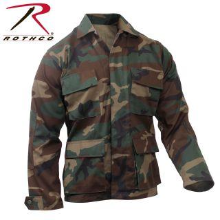 Rothco Camo BDU Shirt-Rothco