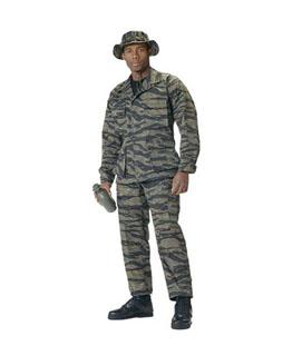 7990 7990 Rothco Tiger Stripe Poly/Cotton Twill B.D.U.'s - Shirts