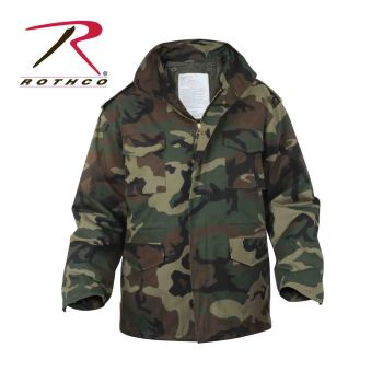 7992 Rothco M-65 Field Jacket w/Liner - Woodland Camo