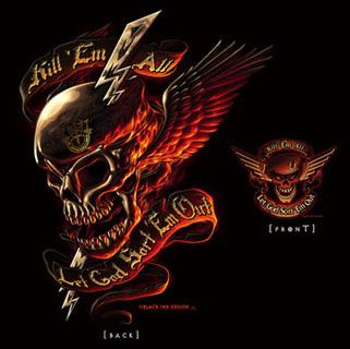 Black Ink - Kill Em All T-Shirt-Rothco