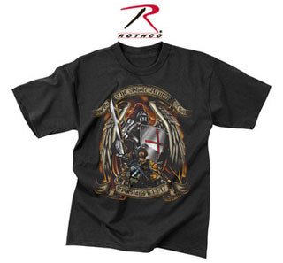 Black Ink Put On The Whole Armor Of God T-Shirt-