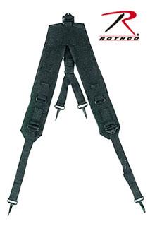 Black GI Style ''y'' Lc-1 Suspenders