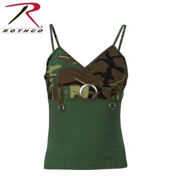 Rothco Womens 2-Tone Tank Top w/ Buckle-