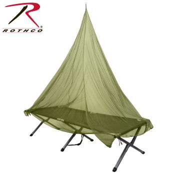 Rothco Single Person Mosquito Net-Rothco