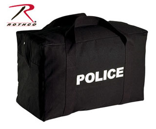 Rothco Canvas Large Police Logo Gear Bag-