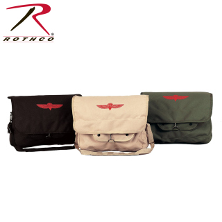 Rothco Canvas Israeli Paratrooper Bag-
