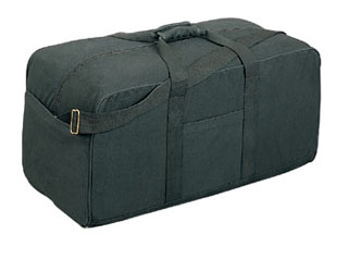 Rothco Canvas Assault Cargo Bag-Rothco