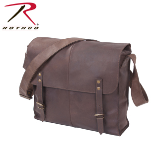 Rothco Brown Leather Medic Bag-Rothco