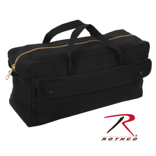 Rothco Canvas Jumbo Tool Bag With Brass Zipper-