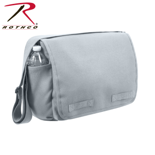 Rothco Vintage Unwashed Canvas Messenger Bag-Rothco
