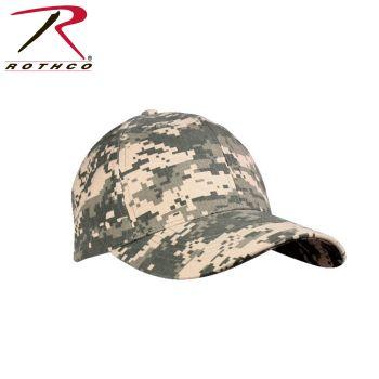 8187_Rothco Camo Supreme Low Profile Cap-