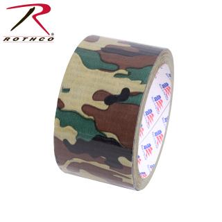 """Rothco 2"""" Woodland Camo Duct Tape-Rothco"""