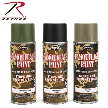 Rothco Camouflage Spray Paint-Rothco