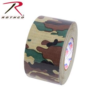 "Rothco 2"" Woodland Camo Duct Tape-"