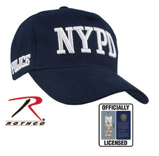 Officially Licensed NYPD Adjustable Cap-Rothco
